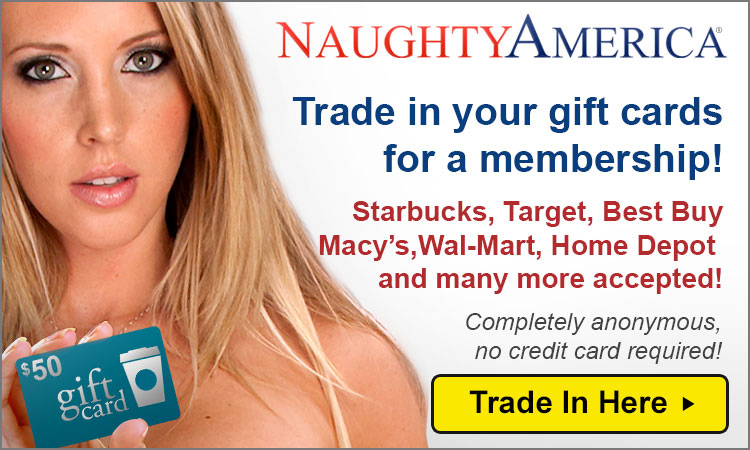 Naughty America Gift Card Join